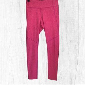 Outdoor Voices Flamingo Pink Leggings Sz M NWT